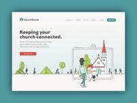 Church Social home page
