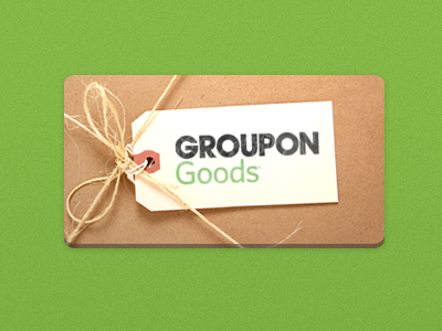 Groupon Goods groupon marketing green paper wrapping package twine