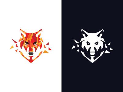 Wolf design branding brand identity illustration logo mark logo design logo icon branding design brand