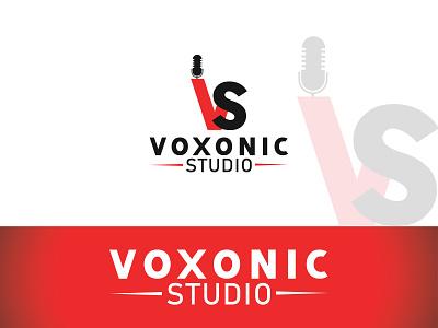 voxonic studio vector illustration brand flat icon brand identity logo mark design branding branding design logo design logo