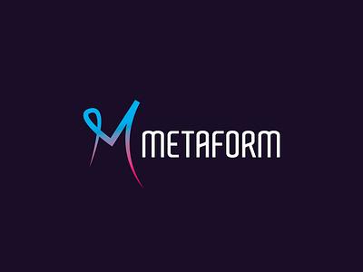 METAFORM Logo illustration icon brand identity brand logo mark logo logo design design branding branding design