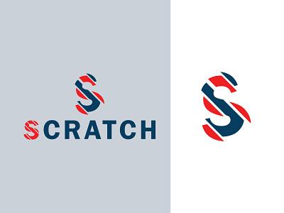 Scratch Logo icon brand branding logo design logo mark design branding design s logo design s wordmark s logo scratch logo logo