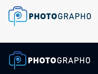 Photographo icon flat design branding logo mark branding design brand vector logo design logo