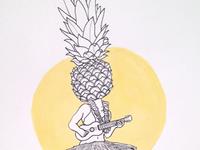 Pineapple Ukulele
