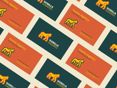 Gorilla Gaming - Logo Design gorilla logo gorilla gaming logodesigner illustration logodesign logo identity design branding