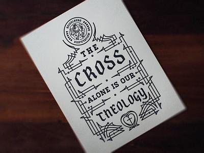 1517 Print vector graphic design etching illustrator print letterpress line art peter voth design engraving badge illustration
