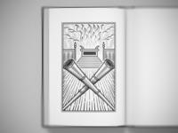 The Silver Trumpets bible design bible scratchboard woodcut editorial design graphic design line art illustrator etching peter voth design engraving vector illustration
