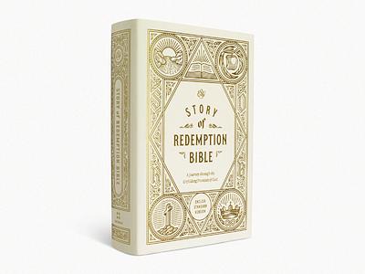 ESV Story of Redemption Bible (2 Years) bible design bible design graphic design line art etching engraving illustrator illustration peter voth design