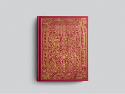 ESV Single Column Journaling Bible®, Artist Series »Sanctus« design graphic design line art illustrator etching engraving illustration peter voth design