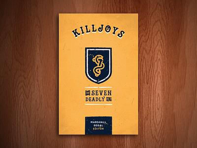 Killjoys (Final Bookcover) bookcover book cover illustration type vector desiring god
