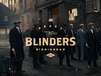 Peaky Blinders (Playoff Challenge) peaky blinders tv series movie brothers type badge gotham