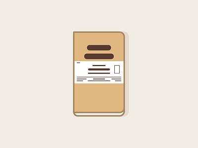 Field Notes (Original Plain) icon illustration vector field notes