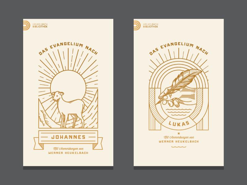 Lukas Evangelium (WIP) illustration vector cover book