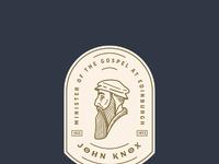 John knox badge