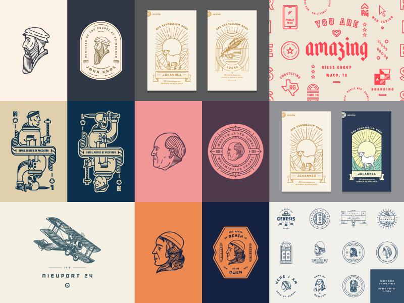 My Best Nine (2016) peter voth design illustration graphic design vector