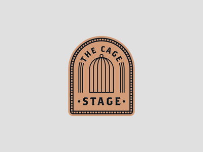 The Cage Stage (Title Design)