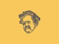 G. K. Chesterton (Illustration)