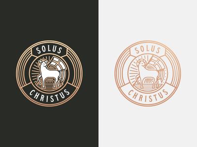 Solus Christus (Inverted)