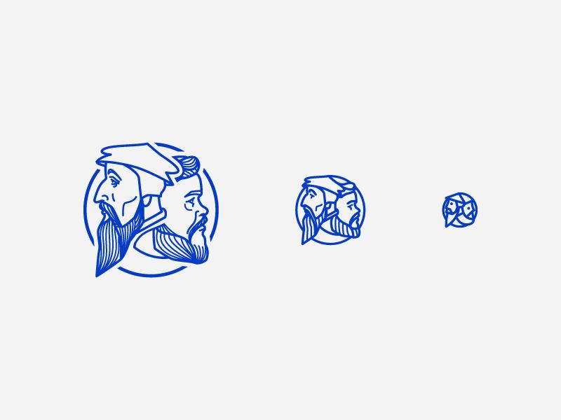 Missional Wear Icon (Responsive II) responsive branding branding logo illustration icon