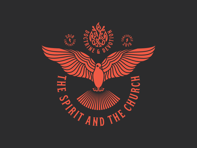 The Spirit And The Church (Badge)