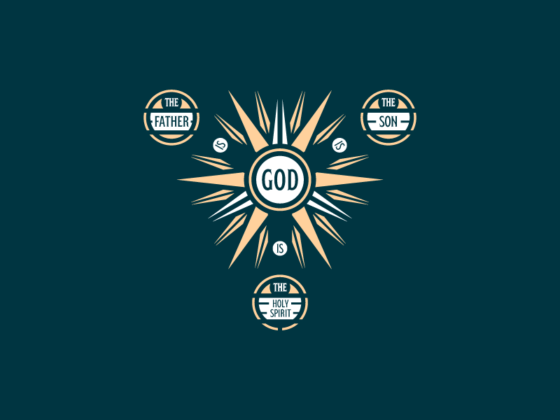 Trinity Badge by Peter Voth on Dribbble