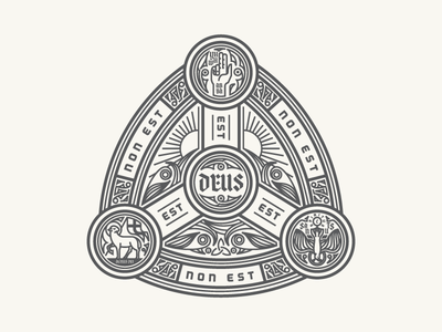 Trinity Seal seal badge illustration