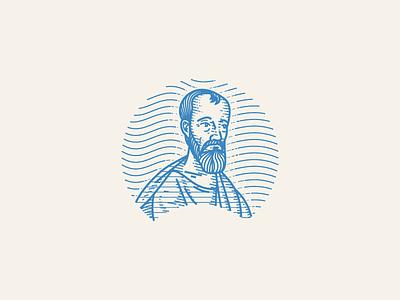 Apostle Paul (WIP) wip vector engraving illustration