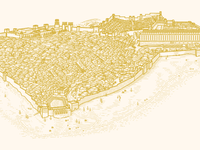 Jerusalem in the time of Jesus (Illustration)