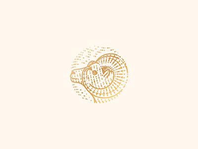 Ezra engraving ram icon illustration