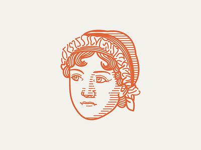 JANE AUSTEN (1775–1817) • (04/53) line art vector scratchboard line engraving etching engraving illustration