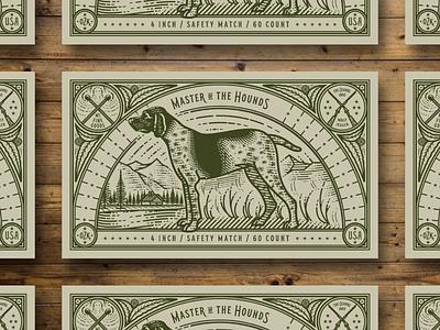Molly Jogger pt. II scratchboard etching line engraving engraving line art packaging illustration