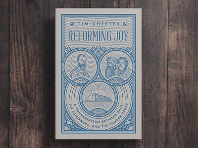 Reforming Joy (Bookcover) steampunk etching engraving peter voth design book design book cover graphic design illustration