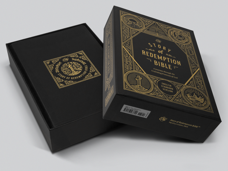 ESV Story of Redemption Bible – Leather (Cover & Packaging