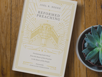 Reformed Preaching (Book cover)