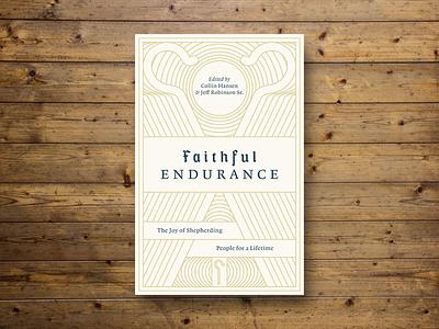 Faithful Endurance (Bookcover) book cover book design peter voth design illustrator graphicdesign graphicart linart illustration