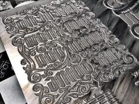 Letterpress Plate
