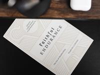 Faithful Endurance (Bookcover) pt.II