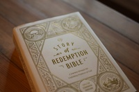ESV Story of Redemption Bible (Close up)