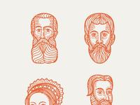 Esv prayer bible portraits 17 20