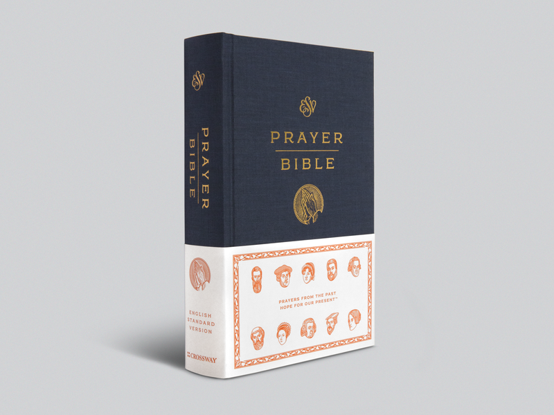 ESV Prayer Bible peter voth illustration cover design bible line art graphic design editorial design illustrator etching peter voth design icon engraving logo vector illustration