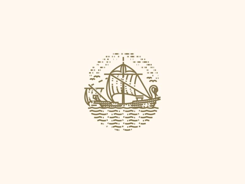 2 Corinthians line art graphic design illustrator etching peter voth design icon engraving logo vector badge illustration