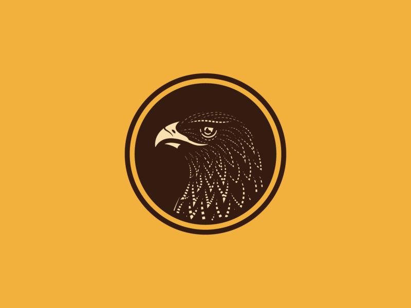 🦅 line art graphic design illustrator branding etching peter voth design icon engraving logo vector badge illustration
