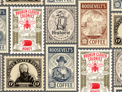Peter Voth Design — Stamp Collection 2019