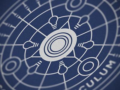 Honor the Future (University of Virginia) editorial design illustrator graphic design line art peter voth design icon logo vector badge illustration