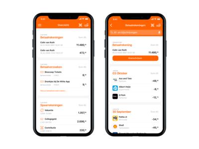 ING Bank app redesign
