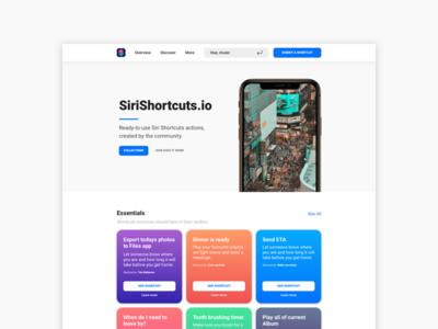 SiriShortcuts.io