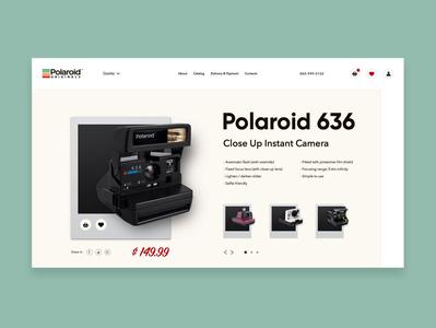 Product Card for Polaroid 636