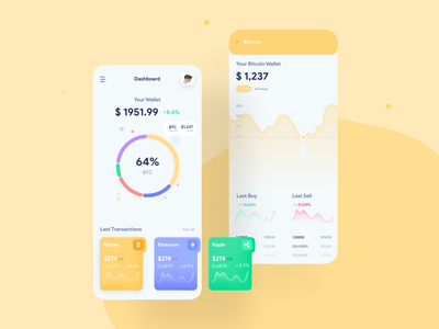 Cryptocurrency Wallet crypto wallet cryptocurrency branding ux ui product design product design app