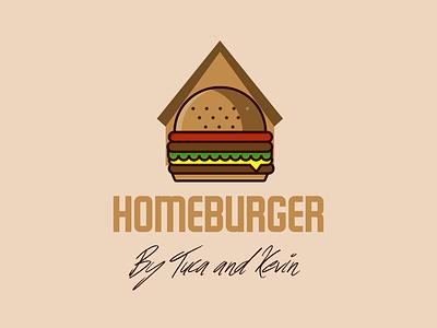 Homeburger food design food logos food art burger design burger branding burgers logo design logo designer logodesign restaurant logos homeburger burger logo burger