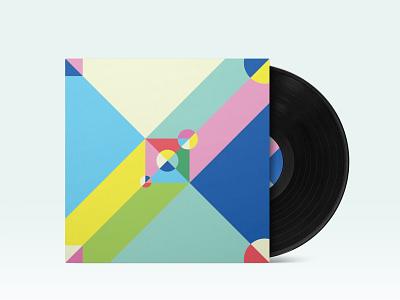 Summer Time Lovin' album cover summer album album artwork flat design illustration branding